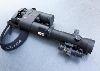 Lynx Edition Jagdfux montiert auf einen Fernglas ( nicht im Lieferumfang)