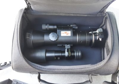 Tragetasche für Dedal 552 mit Photonis-Röhre