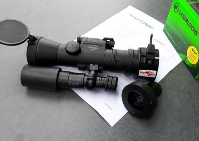 Dedal 552 mit Laserluchs 850-50-PRO II und Okular