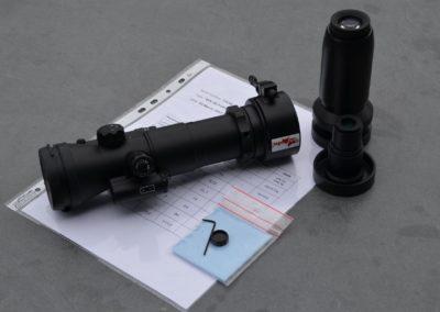 Lynx Edition Jagdfux mit Helligkeitsregelung im Komplettpaket mit 3- oder 5-fach Okular