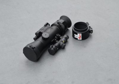 Dedal 542 GEN III mit Gummiokular und Adapter