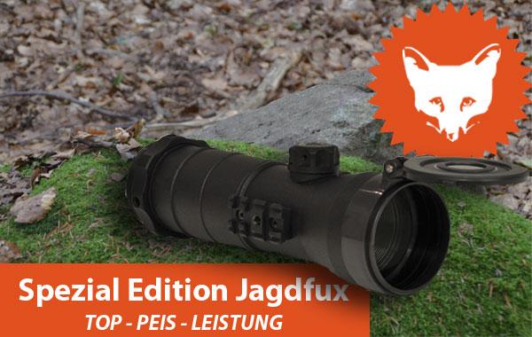Lynx Nachtvorsatz Edition Jagdfux mit Helligkeitsregelung