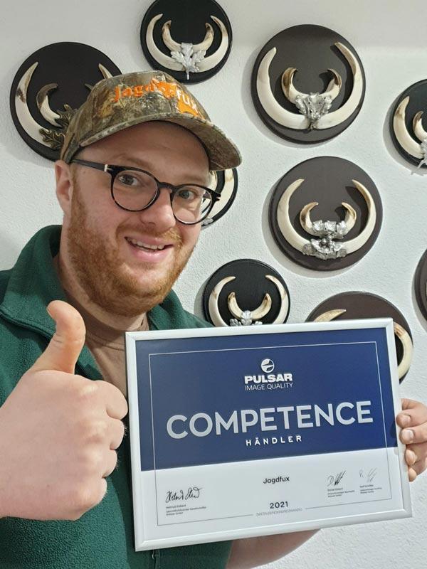 Pulsar Competence Auszeichnung